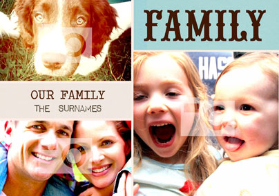 Word Play Family Poster