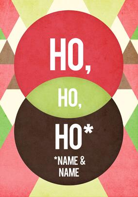 Ho, Ho, Ho Christmas Poster