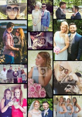Personalised Photo Upload Poster - Multi Photo Up