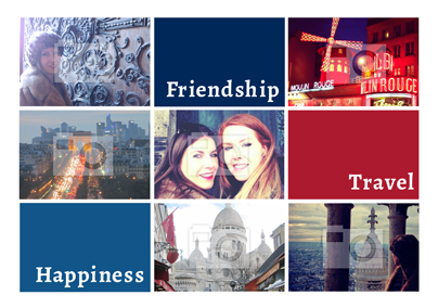 Personalised Photo Upload Poster - Friendship, Tr