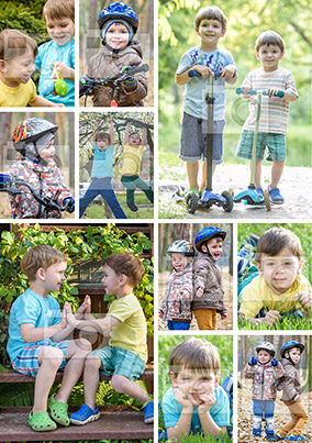 10 Photo Collage Poster