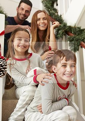 Christmas Full Photo Upload Portrait Poster