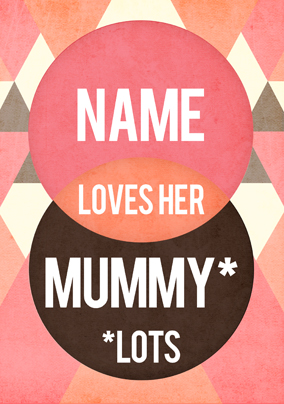 You. Me. Yes - Mummy Love Poster
